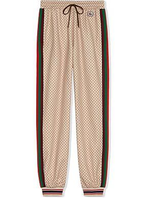Interlocking g trousers