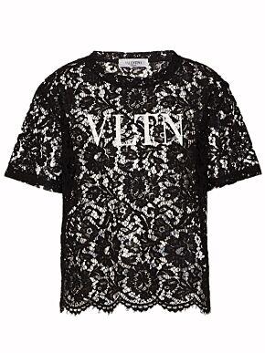 Vltn lace t-shirt