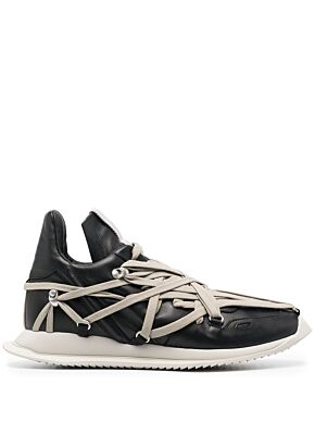 Megalaced runner sneakers
