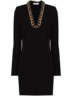 Dress with chain