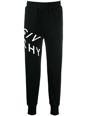Givenchy refracted jogger pants