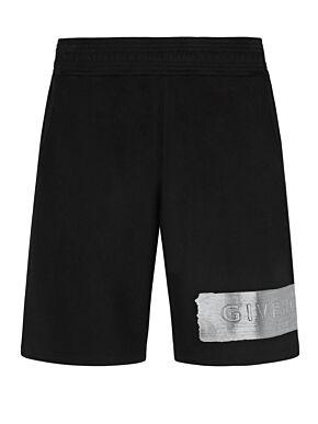 Bermuda shorts with logo