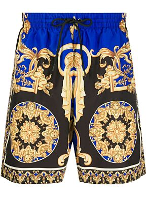 Le pop classique print swim trunks