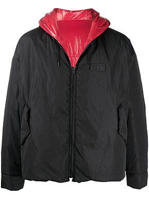 Reversible jacket with vltn tag