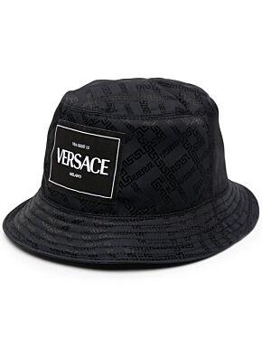 Greca argyle bucket hat