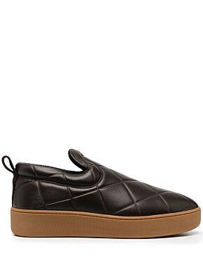 Quilted embossed lambskin bv sneakers