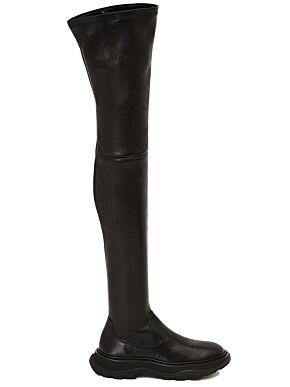 Thigh-high tread boot