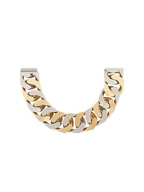 G chain two tone bracelet