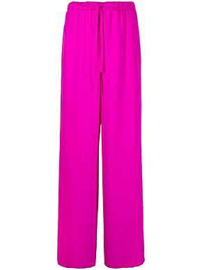 Trousers in cady couture