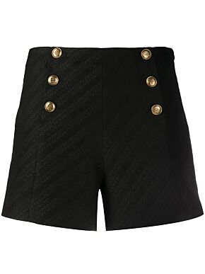 Shorts with 4g buttons