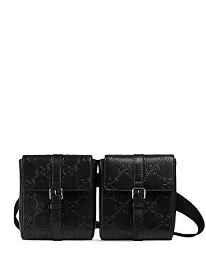 Gg embossed belt bag