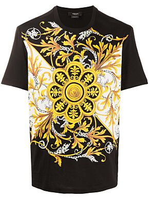 Barocco acanthus print t-shirt