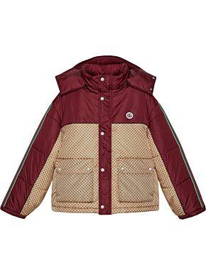 Gg parachute padded jacket