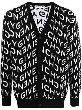 Givenchy refracted cardigan