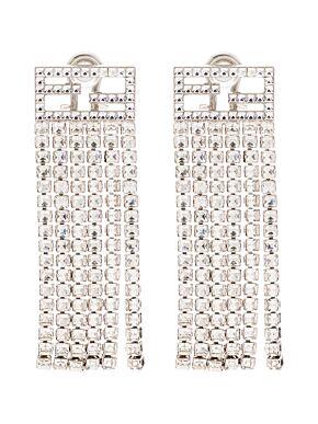 Ff tassel earrings
