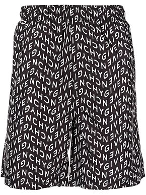 Givenchy refracted swim short