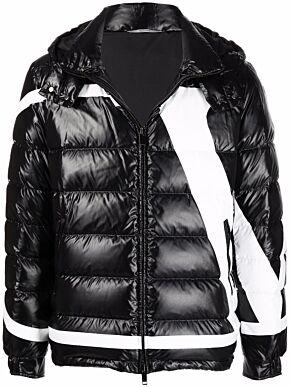 Puffer jacket with vlogo signature