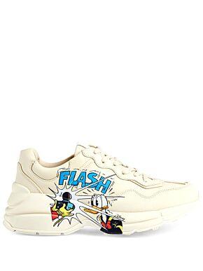 Disney x gucci donald duck rhyton sneakers