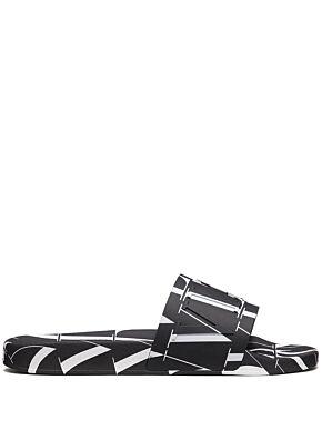 Vltn times rubber slide sandal