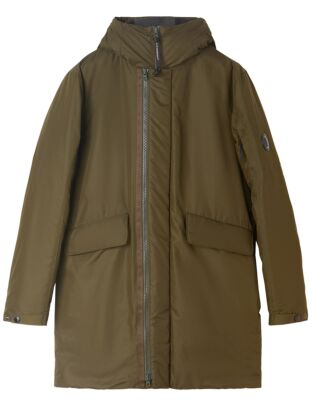 Micro-m down-padded lens jacket