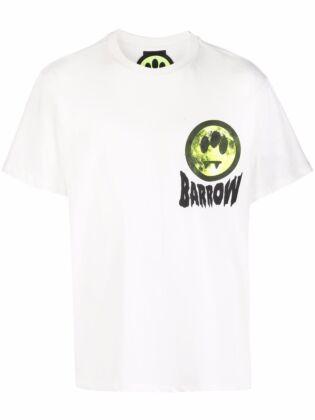 Smiley-print t-shirt