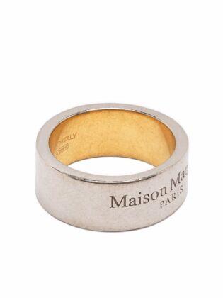 Logo-engraved ring