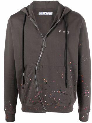 Vintage paint twist hoodie