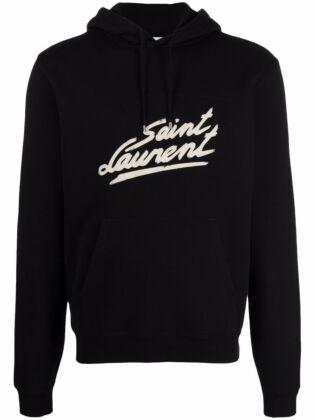 """""""saint laurent"""" '50s signature hoodie"""